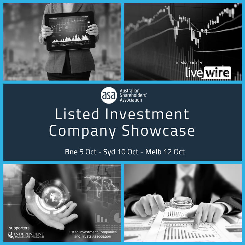 Sydney - Listed Investment Company Showcase